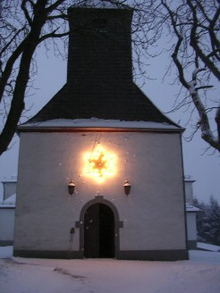 Kapelle im Winter
